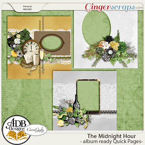 The Midnight Hour Quick Pages by ADB Designs