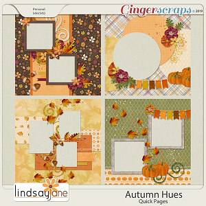 Autumn Hues Quick Pages by Lindsay Jane