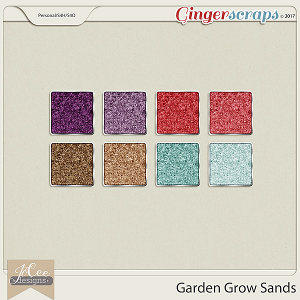 Garden Grow Sand Styles by JoCee Designs