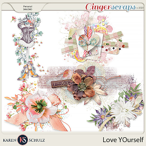 Love Yourself Clusters by Karen Schulz