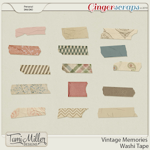 Vintage Memories Tape by Tami Miller Designs