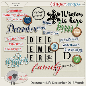 Document Life December 2018 Words by Luv Ewe Designs