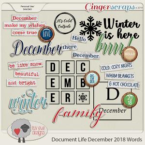 Document Life December 2018 Words by Luv Ewe Designs