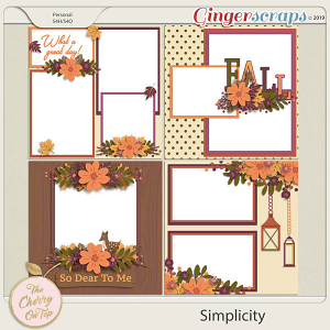 The Cherry On Top:  Simplicity Templates