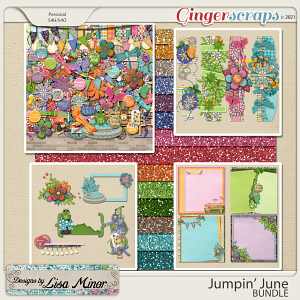 Jumpin' June BUNDLE from Designs by Lisa Minor