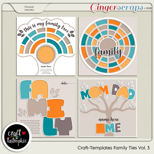 Craft-Templates Family Ties Vol 3