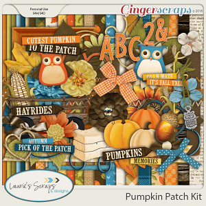 Pumpkin Patch Page Kit