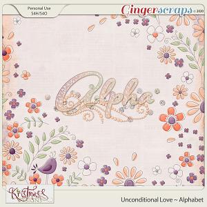 Unconditional Love Alphabet