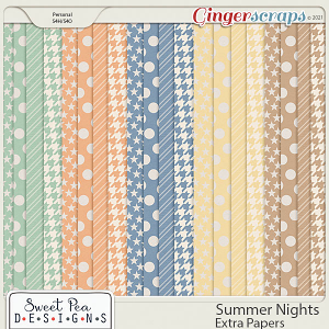 Ssummer Nights Extra Paper