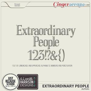 Extraordinary People Alphas by JB Studio & Aimee Harrison