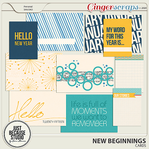 New Beginnings Cards by JB Studio
