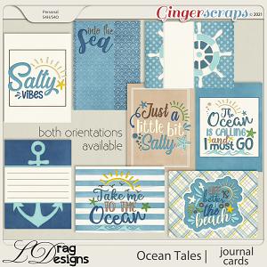 Ocean Tales: Journal Cards by LDragDesigns