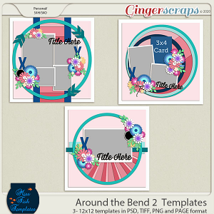 Around the Bend 2 Templates by Miss Fish