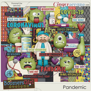 Pandemic by BoomersGirl Designs
