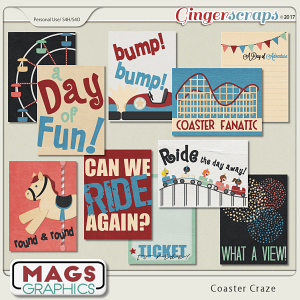 Coaster Craze JOURNAL CARDS by MagsGraphics