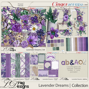 Lavender Dreams: The Collection by LDragDesigns