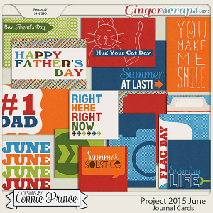 Project 2015 June - Journal Cards