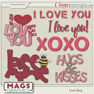Love Bug WORD ART by MagsGraphics