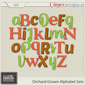 Orchard Grown Alpha Sets by Aimee Harrison