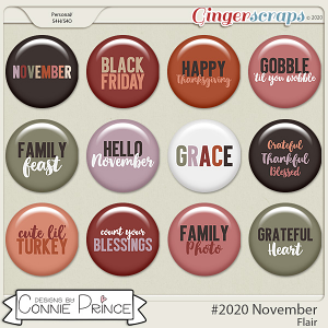 #2020 November - Flair Pack by Connie Prince
