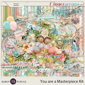 You are a Masterpiece Kit by Karen Schulz