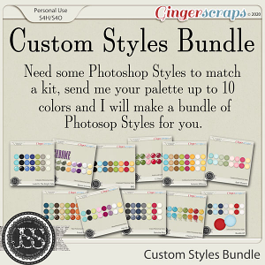 Custom Styles Bundle From Just So Scrappy