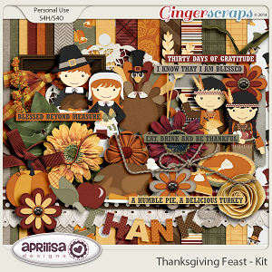 Thanksgiving Feast - Kit by Aprilisa Designs