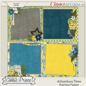Adventure Time - PreDeco Papers