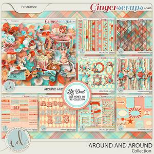 Around And Around Collection by Ilonka's Designs