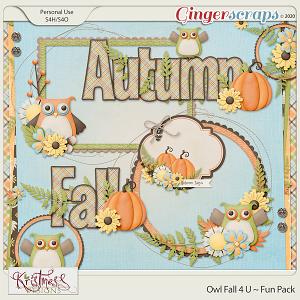 Owl Fall 4 U Fun Pack