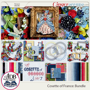 Cosette Bundle {DOTW France} plus FWP by ADB Designs