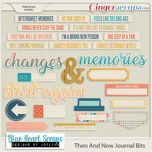 Then and Now Journal Bit Pack