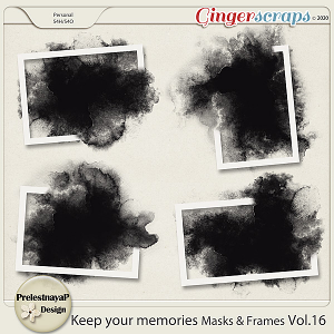 Keep your memories Masks&Frames Vol.16