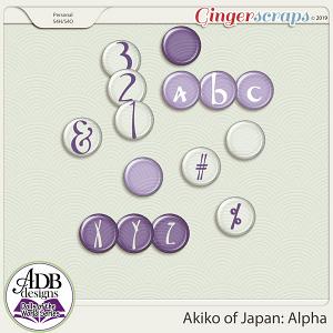 Akiko Alpha {DOTW - Japan} by ADB Designs