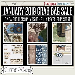 January 2019 Grab Bag - Timeless by Connie Prince