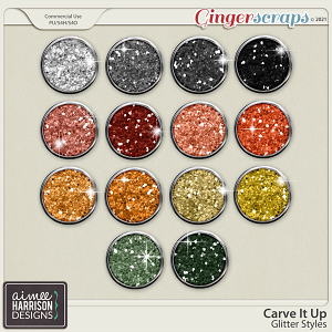 Carve It Up Glitters by Aimee Harrison