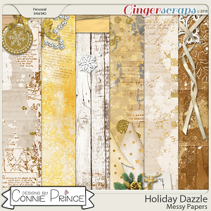 Holiday Dazzle - Messy Papers by Connie Prince