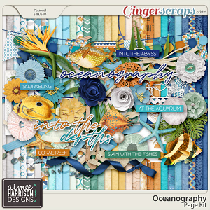 Oceanography Page Kit by Aimee Harrison