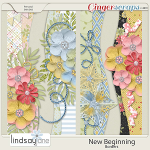New Beginning Borders by Lindsay Jane
