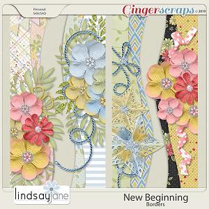 New Beginning Borders by Lindsay Jane