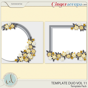 Template Duo Vol 11 by Ilonka's Designs