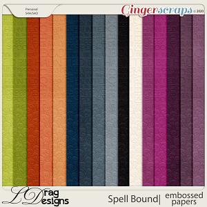Spellbound: Embossed Papers by LDragDesigns