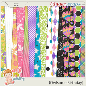 Owlsome Birthday Papers