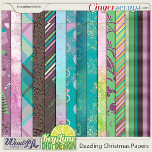 Dazzling Christmas Papers