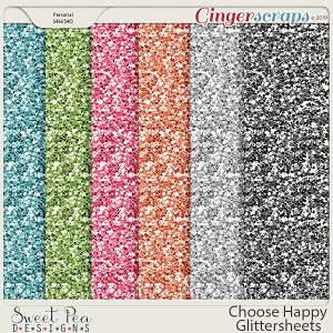 Choose Happy Glittersheets