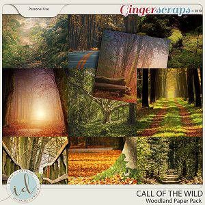 Call Of The Wild Woodland Paper Pack by Ilonka's Designs