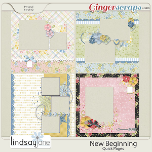 New Beginning Quick Pages by Lindsay Jane