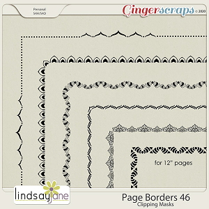 Page Borders 46 by Lindsay Jane