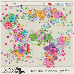 Over The Rainbow: Graffiti by LDragDesigns