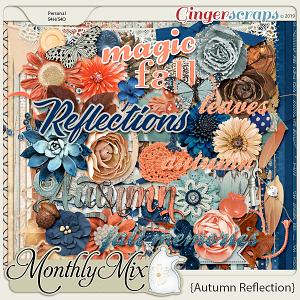 GingerBread Ladies Monthly Mix: Autumn Reflection